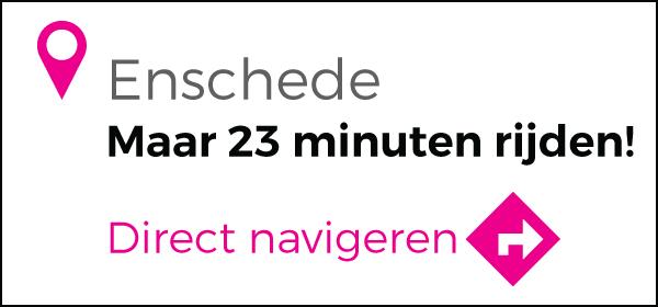 Routebeschrijving vanuit Enschede