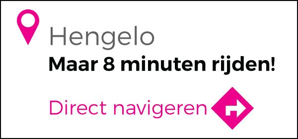 Routebeschrijving vanuit Hengelo