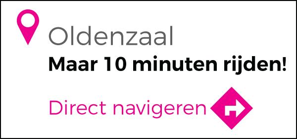 Routebeschrijving vanuit Oldenzaal